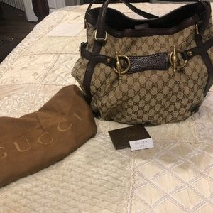 Authentic Jockey Gucci handbag